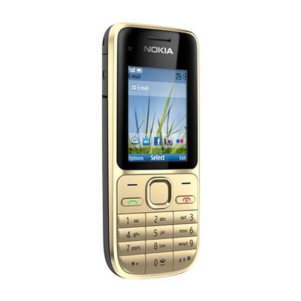 Nokia C2-01 3G DS Gold